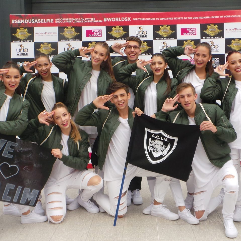 A.C.I.M. Dancecrew - UDO WM - Glasgow 2015